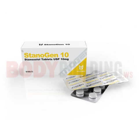 StanoGen 10 – Box of 50 tablets – MyoGen – 10 mg/tablet