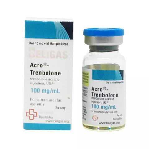 Acro trenboloonatsetaat 100mg 10ml Beligas Pharmaceuticals