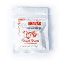 Anavar 50mg 100tabs Dragon Pharma