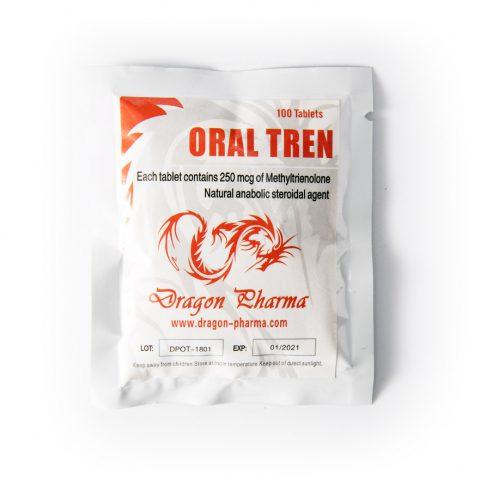 Oral Tren 25mcg 100tabs Dragon Pharma
