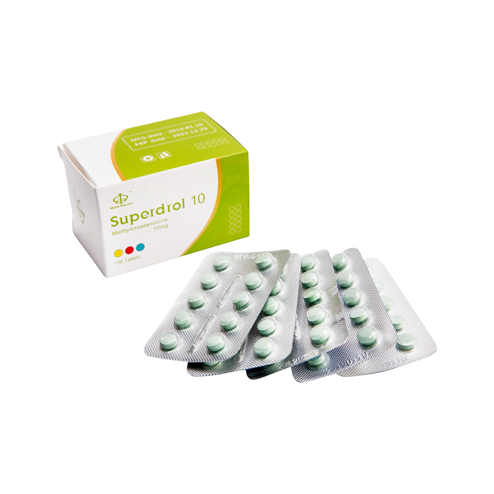 Superdrol 10mg 100tabs Maha Pharma