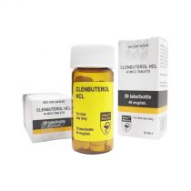Original Oral Clenbuterol manufactured by Hilma.