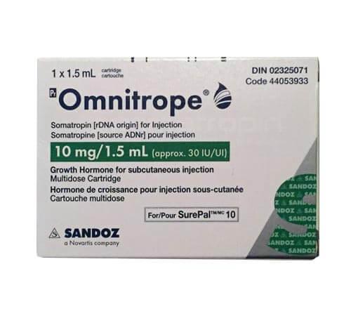 Omnitrope -10mg - 30IU - Sandonz