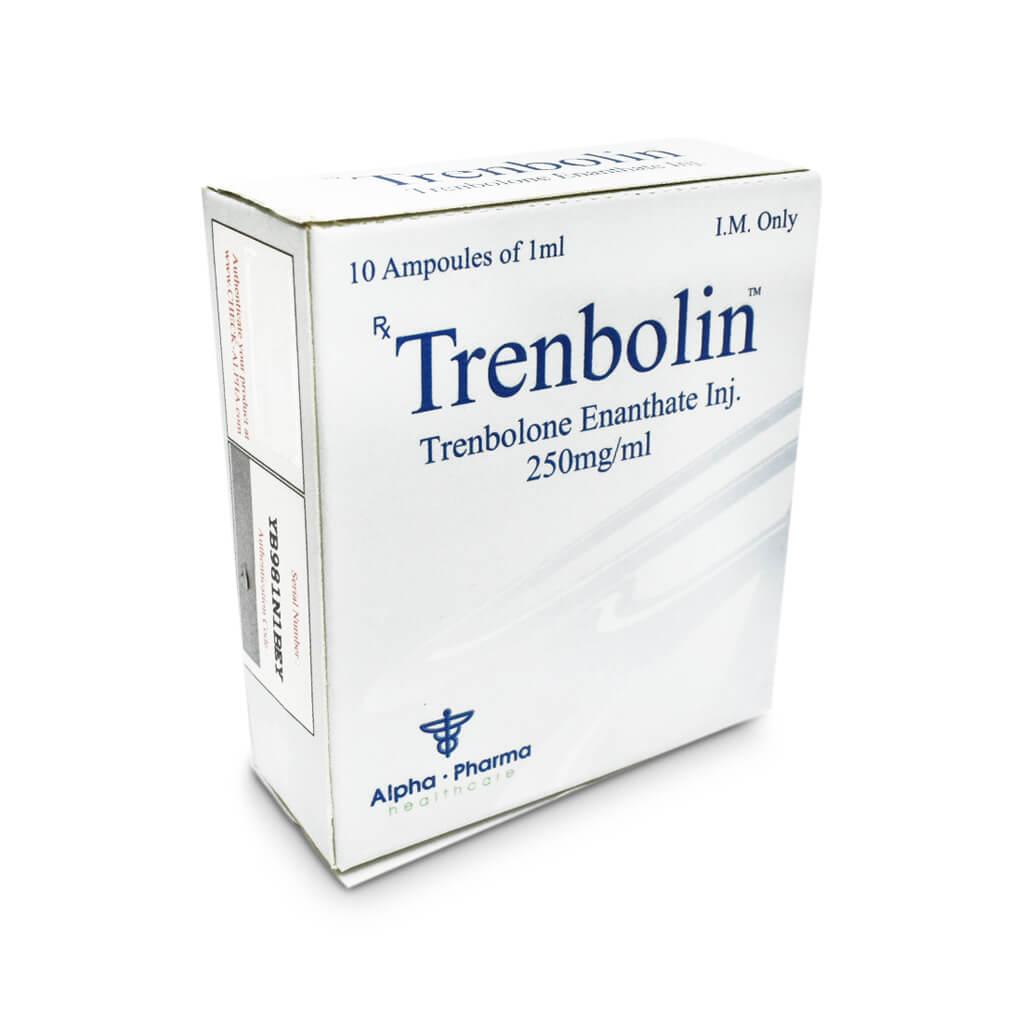 Trenbolin Tren E 250mg /ml 10 x 1ml amp - Alpha-Pharma