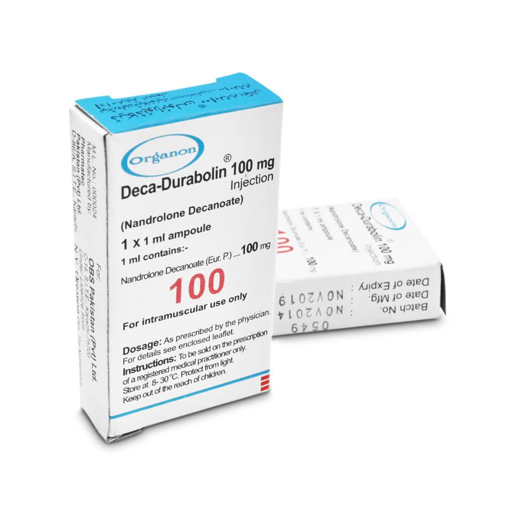 Deca Durabolin Nandrolone Decanoate 100mg 1 Amp Pakistan - Organon