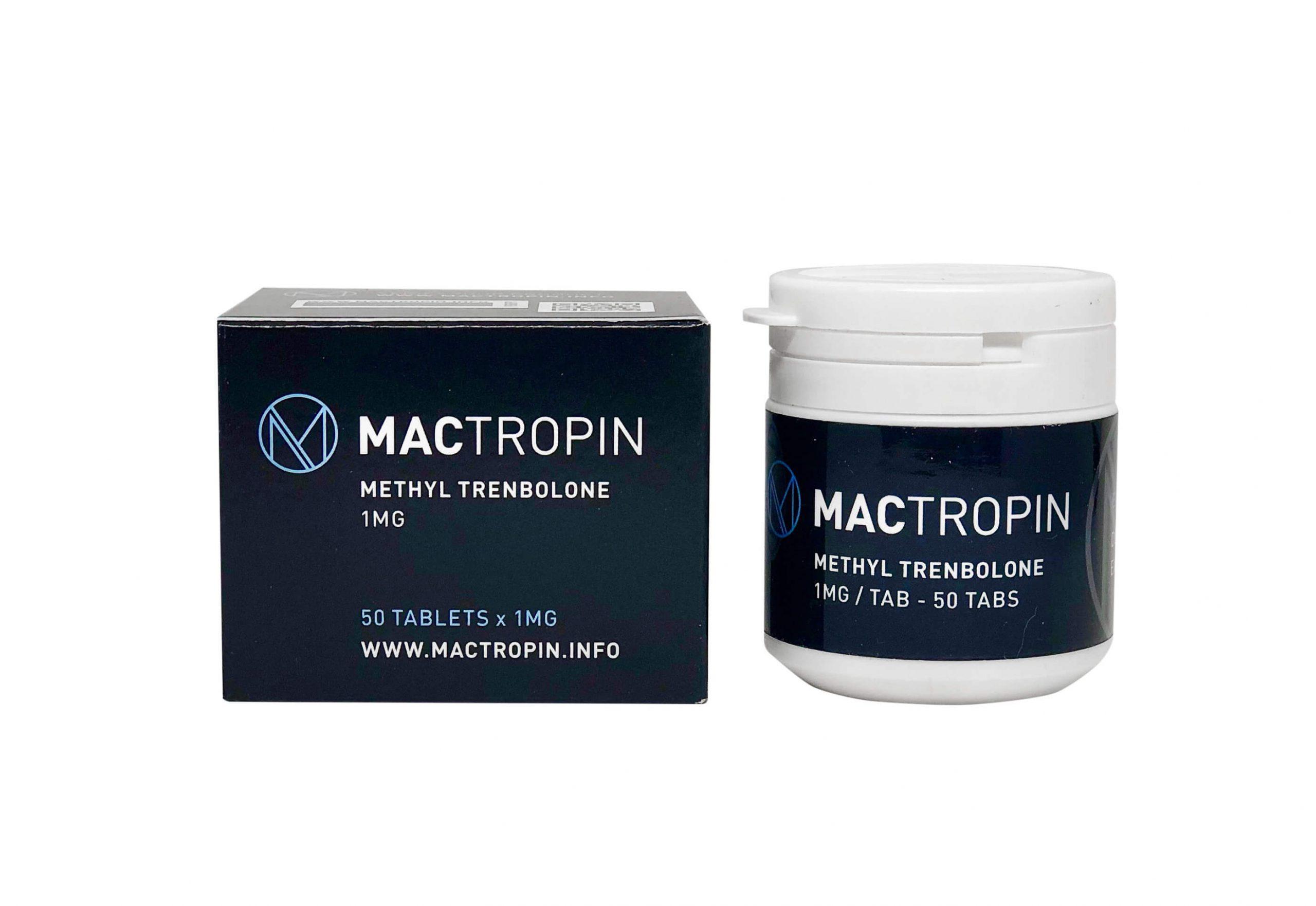 Methyl Trenbolone 1mg 50tabs - MACTROPIN - body-building-anabolics.is